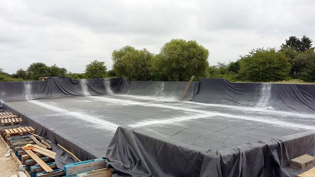 Installation bassin à vague