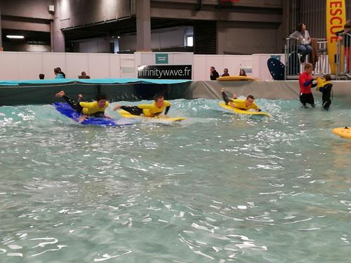 bassin à vague
