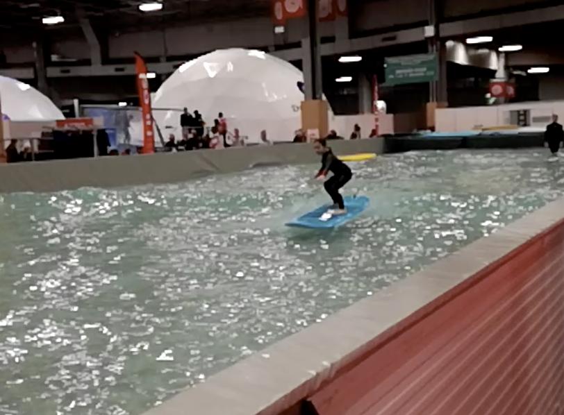 location bassin à vague